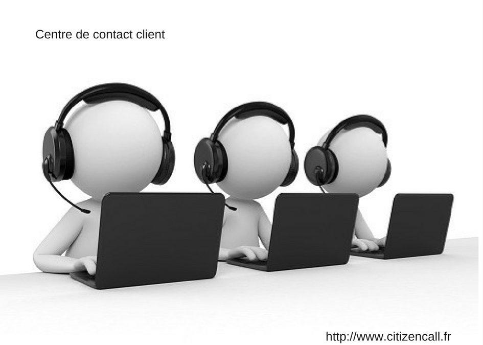 Le fonctionnement d'un centre de contact client