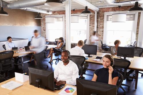 Call center pour gestion des pics d'appels