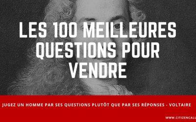 Les 100 meilleures questions pour vendre