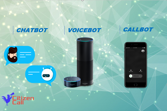 chatbot callbot voicebot