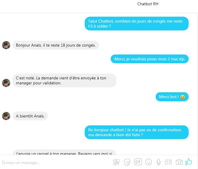 chatbot rh